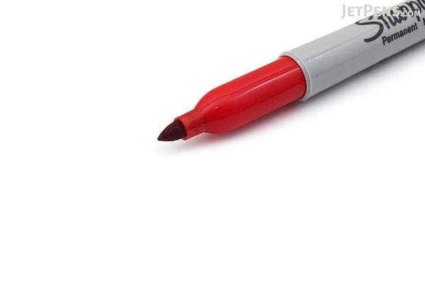 Sharpie Permanent Marker - Fine Point - Red - SHARPIE 30052
