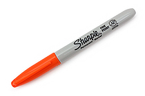 Sharpie Permanent Marker - Fine Point - Orange - SANFORD 30036