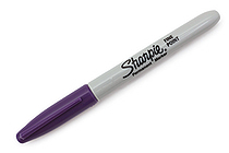 Sharpie 80's Glam Permanent Marker - Fine Point - Valley Girl Violet - SANFORD 1785394