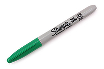 Sharpie Permanent Marker - Fine Point - Green - SANFORD 30034
