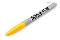 Sharpie Permanent Marker - Fine Point - Yellow - SHARPIE 30035