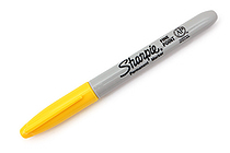 Sharpie Permanent Marker - Fine Point - Yellow - SANFORD 30035