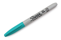 Sharpie Permanent Marker - Fine Point - Aqua - SANFORD 30127