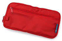 Cubix Round Zip Pen Case - Red - CUBIX 106157-05-80