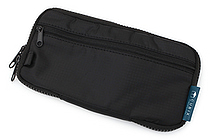 Cubix Round Zip Pen Case - Black - CUBIX 106157-15