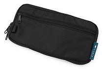 Cubix Round Zip Pen Case - Black - CUBIX 106157-15