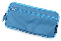 Cubix Round Zip Pen Case - Sky Blue - CUBIX 106157-36