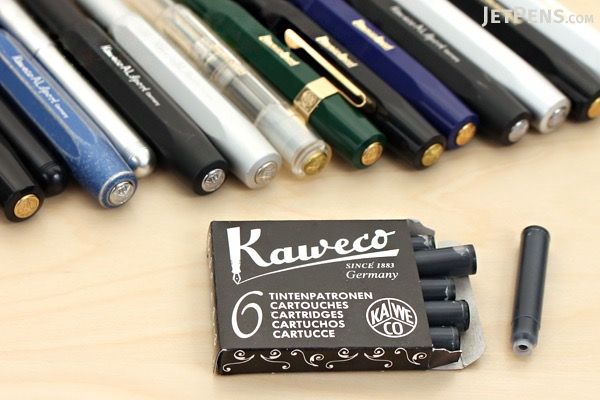 Kaweco Caramel Brown Ink - 6 Cartridges - KAWECO 10000259