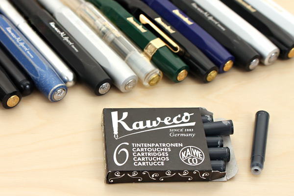 Kaweco Fountain Pen Ink Cartridge - Royal Blue - Pack of 6 - KAWECO 10000256
