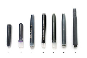 How to Refill Ink Cartridges for Fountain/Brush/Marker Pens