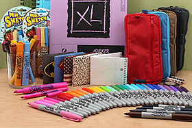 New Products: Sketch Pads, Pen Cases, Sharpies, Mr. Sketch Scented Markers, Mighty Wallets, Washi Tape, and More!