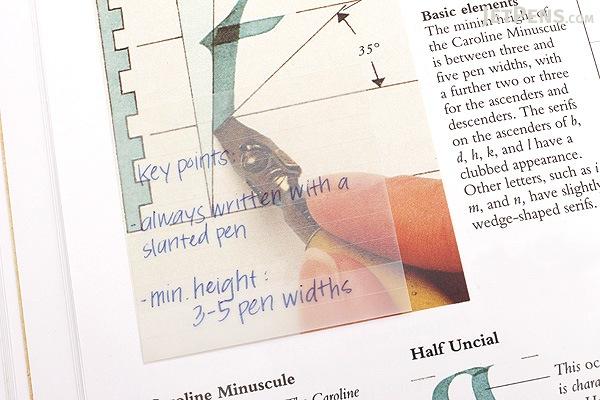 Stalogy Translucent Sticky Notes - Lined - 25 mm - STALOGY S3051