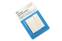 Stalogy Translucent Sticky Notes - Grid - 15 mm - STALOGY S3040
