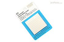 Stalogy Translucent Sticky Notes - Lined - 50 mm - STALOGY S3052