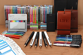 New Products: A Colorful Burst of Gel Pens, Ballpoint Pens, Fountain Pens, Notepads, Index Cards, Sticky Notes, and More!