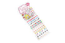 Sun-Star Miss Hally Naocell Removable Planner Stickers - Schedule - SUN-STAR S8570507