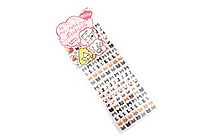 Sun-Star Miss Hally Naocell Removable Planner Stickers - Cat - SUN-STAR S8570558