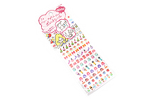 Sun-Star Miss Hally Naocell Removable Planner Stickers - Holiday - SUN-STAR S8571112
