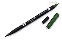 Tombow ABT Dual Brush Pen - 177 - Dark Jade - TOMBOW AB-T177
