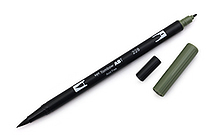 Tombow Dual Brush Pen - 228 - Gray Green - TOMBOW 56523