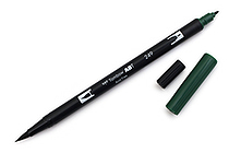 Tombow Dual Brush Pen - 249 - Hunter Green - TOMBOW 56528