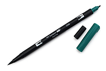 Tombow Dual Brush Pen - 346 - Sea Green - TOMBOW 56537