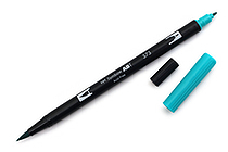 Tombow Dual Brush Pen - 373 - Sea Blue - TOMBOW 56544