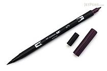 Tombow ABT Dual Brush Pen - 679 - Dark Plum - TOMBOW AB-T679