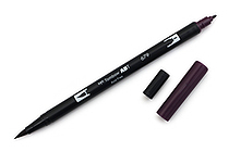 Tombow Dual Brush Pen - 679 - Dark Plum - TOMBOW 56577