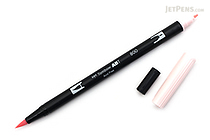 Tombow ABT Dual Brush Pen - 800 - Baby Pink - TOMBOW AB-T800