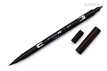 Tombow ABT Dual Brush Pen - 879 - Brown - TOMBOW AB-T879