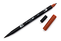 Tombow Dual Brush Pen - 947 - Burnt Sienna - TOMBOW 56612