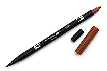 Tombow Dual Brush Pen - 977 - Saddle Brown - TOMBOW 56615