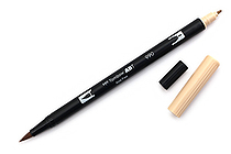 Tombow Dual Brush Pen - 990 - Light Sand - TOMBOW 56617