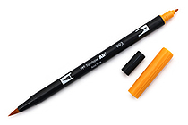 Tombow Dual Brush Pen - 993 - Chrome Orange - TOMBOW 56620