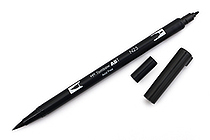 Tombow Dual Brush Pen - N25 - Lamp Black - TOMBOW 56622