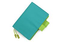 Hobonichi Techo Planner with Cover - 2016 - A6 - Blue-Green - HOBONICHI TECHO C 2016 BG