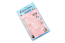 Vision Quest To-Do List Sticky Notes - Panda - VISION QUEST FW01-04