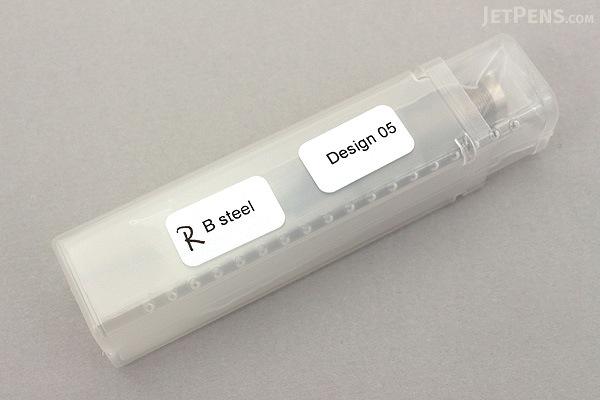 Otto Hutt Design 05 Fountain Pen Replacement Nib - Ruthenium - Broad - OTTO HUTT HTN/61946/B