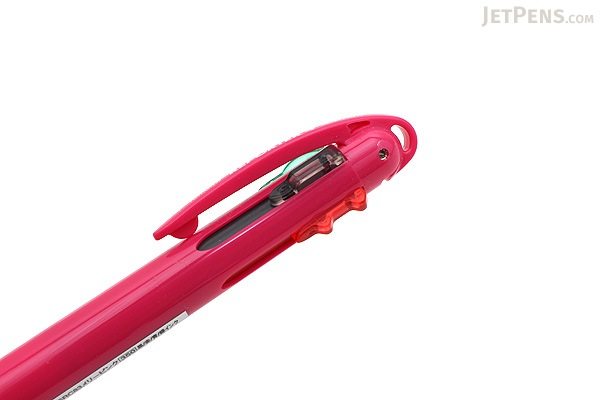 Tombow Reporter 4 Compact Ballpoint Multi Pen - 0.7 mm - Merry Pink Body - TOMBOW BC-FSRC83