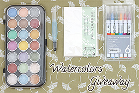 Pen Perks: Watercolors Giveaway