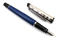 Waterman Expert Fountain Pen - Deluxe Blue CT - Fine Nib - WATERMAN 1904580