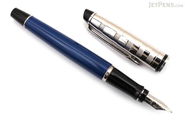 Waterman Expert Blue Obsession Fountain Pen - Fine Nib - WATERMAN 1904580