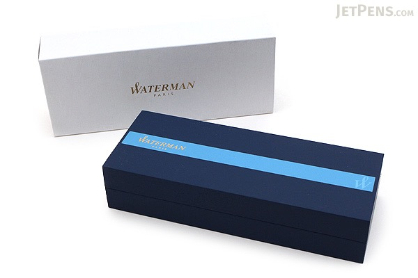 Waterman Hemisphere Blue Obsession Fountain Pen - Medium Nib - WATERMAN 1904599