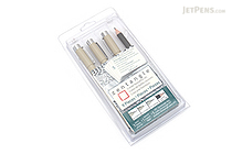 "Sakura Zentangle - 9 Piece Drawing Set - White 2.5"" x 3.5"" Tiles - SAKURA 50010"
