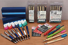 New Products: Comic Pen Nib Holders and Nibs, Waterman Fountain Pens, Sakura Zentangle Pigma Micron Sets, and More!