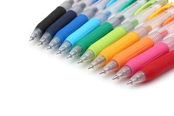 Zebra Sarasa Push Clip Gel Pen - 0.3 mm - 10 Color Set - ZEBRA JJH15-10CA