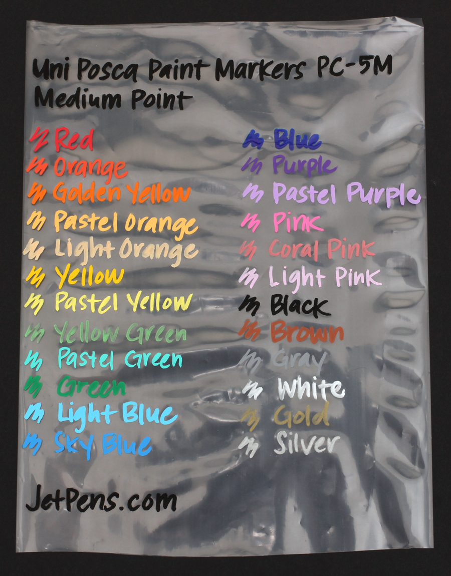 Uni Posca Paint Marker PC-5M - White - Medium Point - UNI PC5M.1