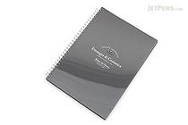 Etranger di Costarica Blanc de Noirs Black Paper Notebook - B5 - ETRANGER DI COSTARICA BK-25-01