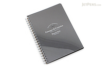 Etranger di Costarica Blanc de Noirs Black Paper Notebook - B6 - ETRANGER DI COSTARICA BK-27-01